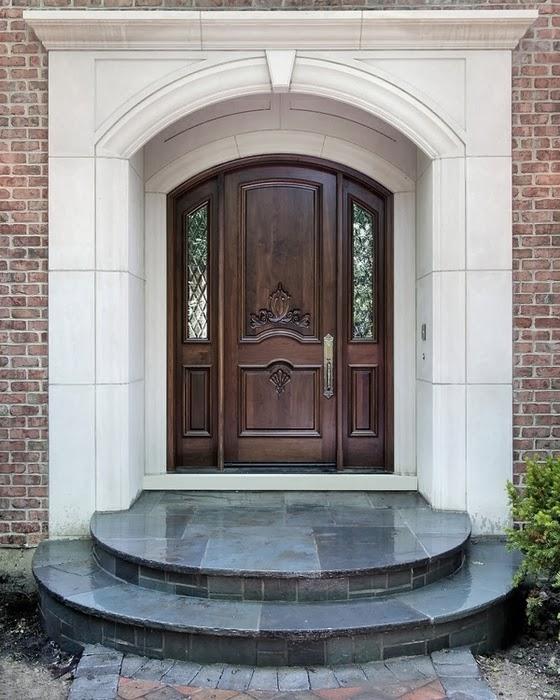 Connu porte d'entrée pour maison ZJ31