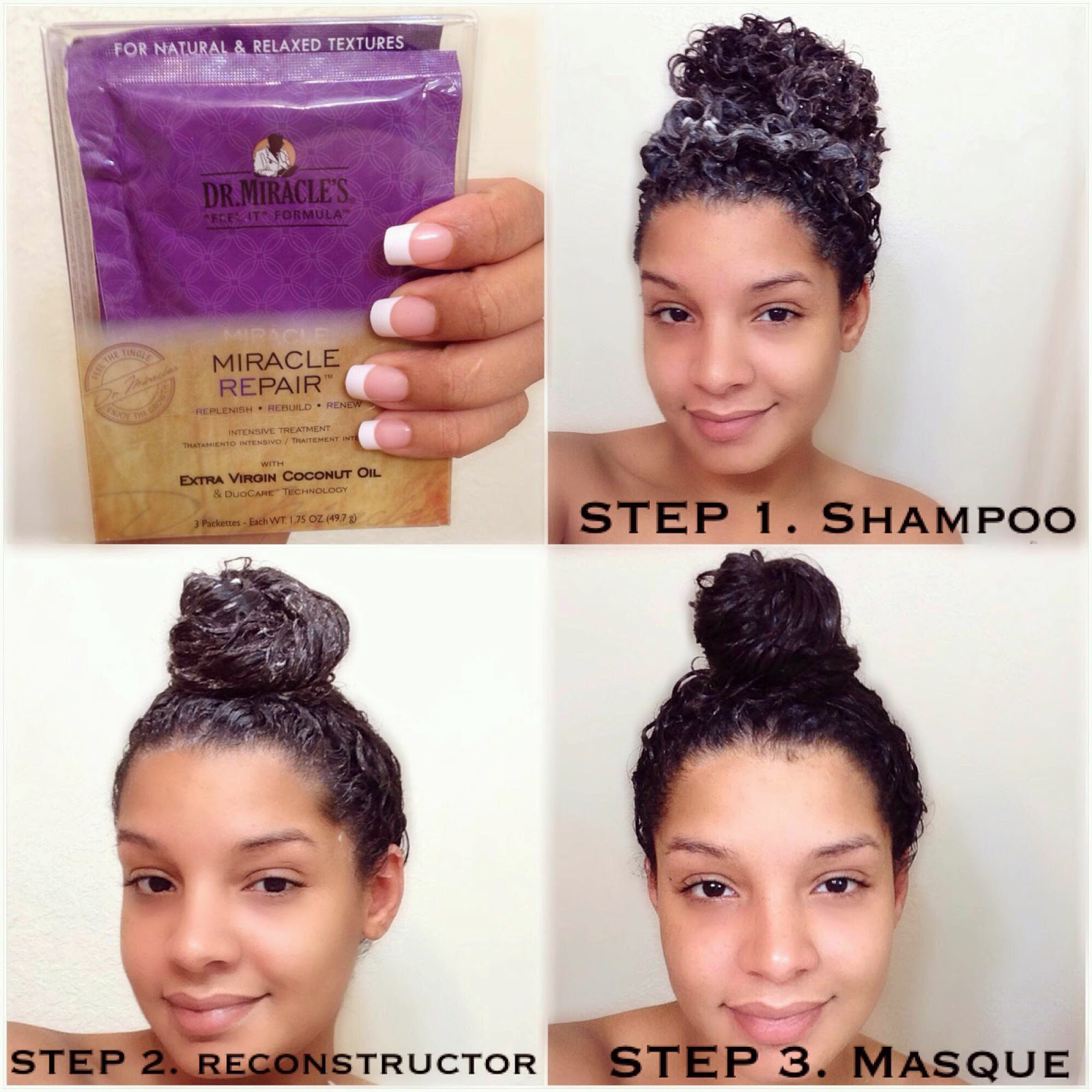 Dr Miracles 3 Step Miracle Repair System Review