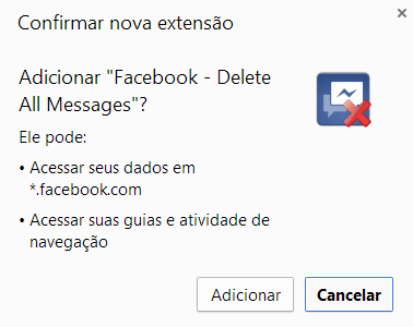 apagar todas mensagens facebook de uma vez novo