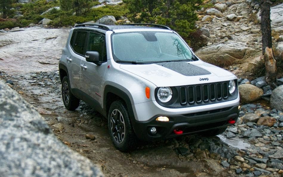 Jeep Renegade 2015 Car Wallpaper HD 01
