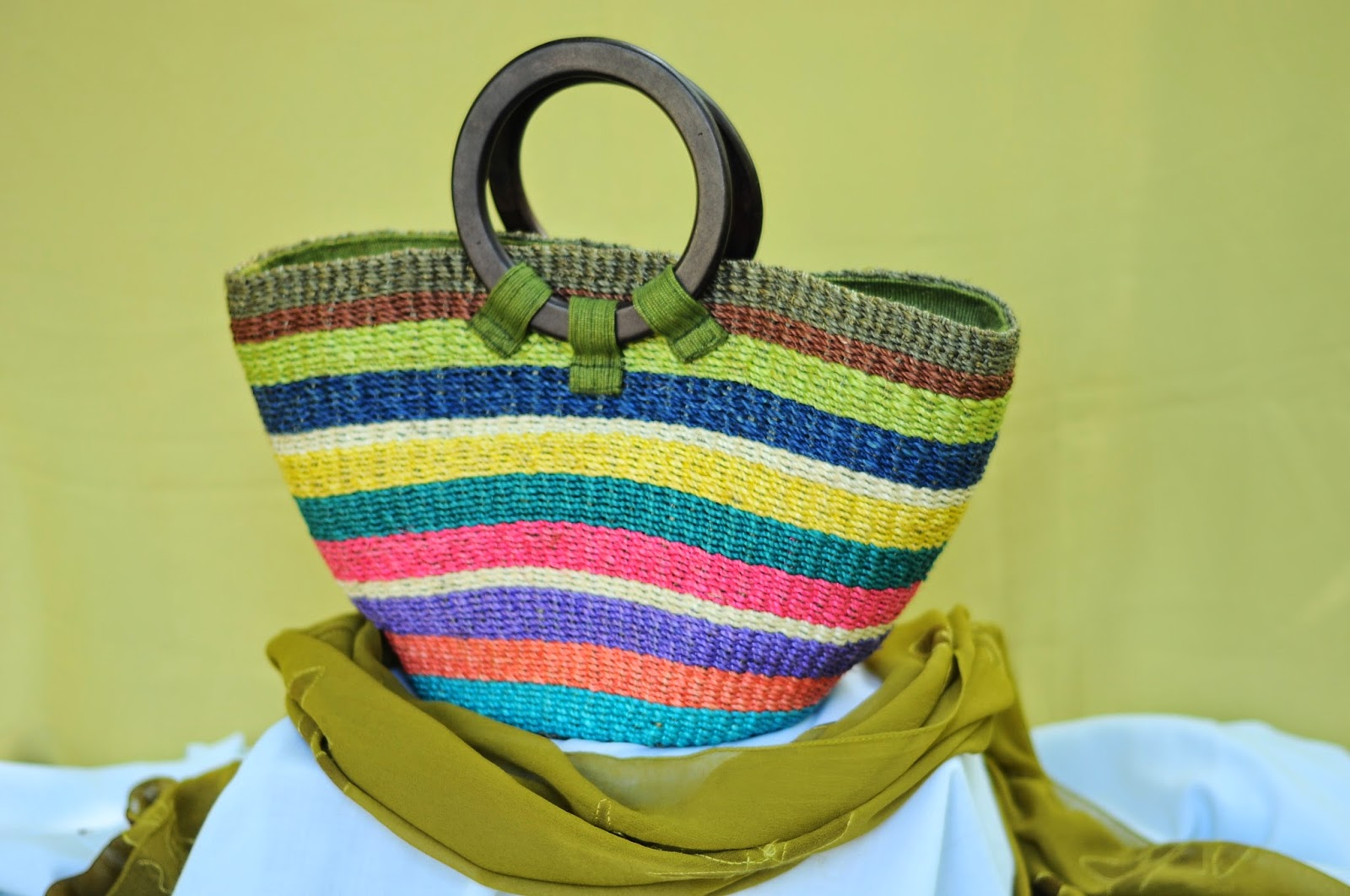 DTI CARP BIKOL Products: ABACA Fashion BAGS of Albay, Philippines
