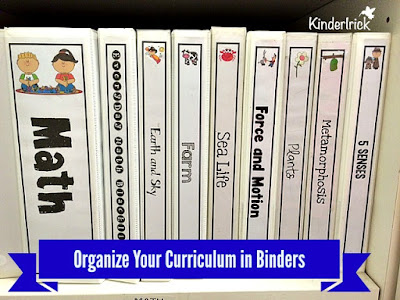 binder organization labels