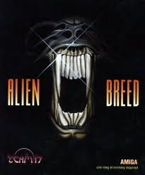 Aliend Breed pc old game cover