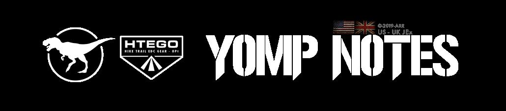 HIKE TRAIL EDC GEAR OPTIMIZED [HTEGO]  - BLOG TYPE - YOMP NOTES