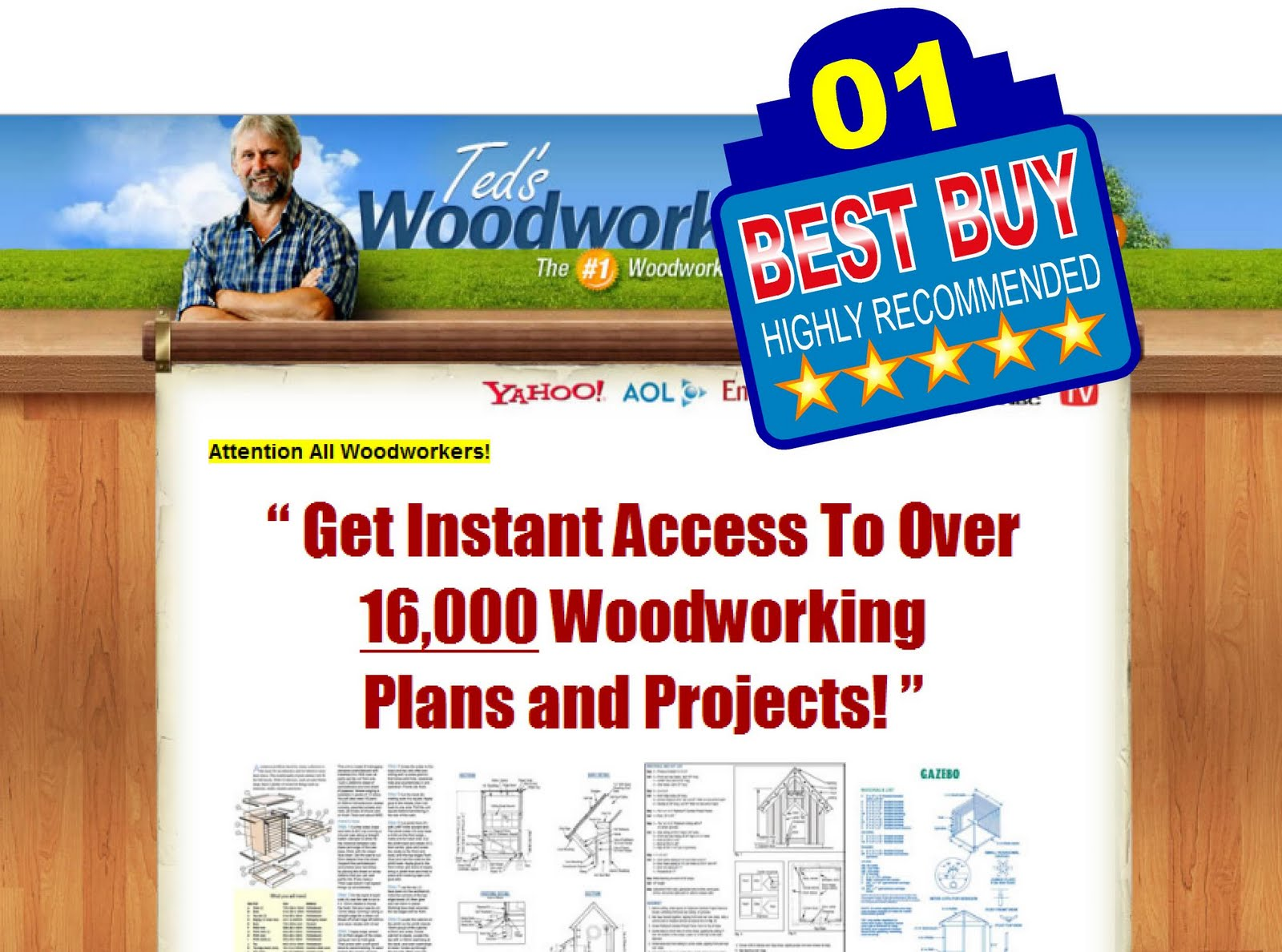 woodworking plans to buy