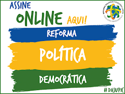 ASINATURA ONLINE: REFORMA POLÍTICA DEMOCRÁTICA