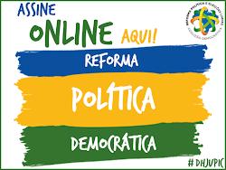 ASINATURA ONLINE: REFORMA POLÍTICA DEMOCRÁTICA