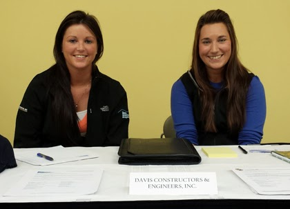 Nicole Frey and Jenny Baker of Davis Constructors & Engineers