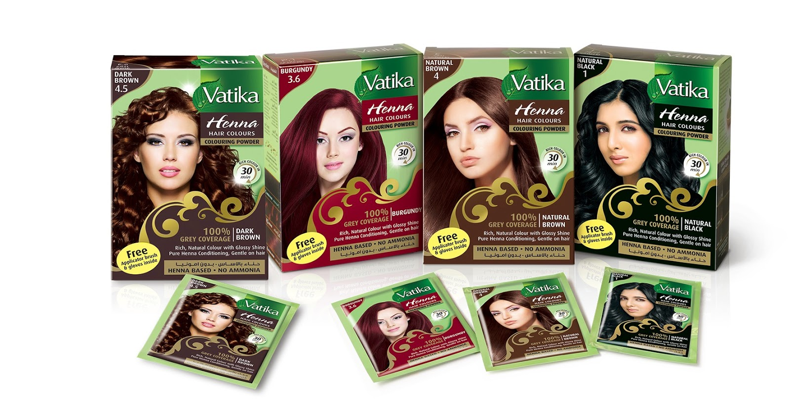 Company News In Egypt Product Placement Vatika Henna Hair Colour