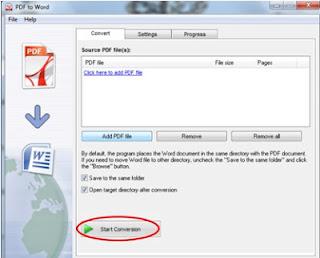 Cara Merubah file PDF ke Word dengan Mudah