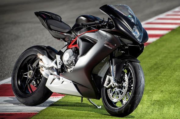 2014 MV Agusta F3 800 Metallic Matt