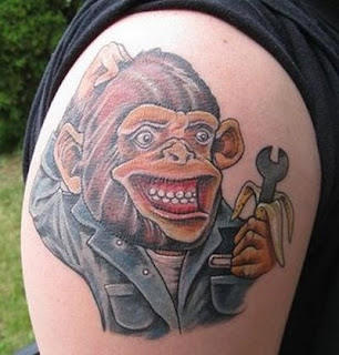 Monkey Tattoos
