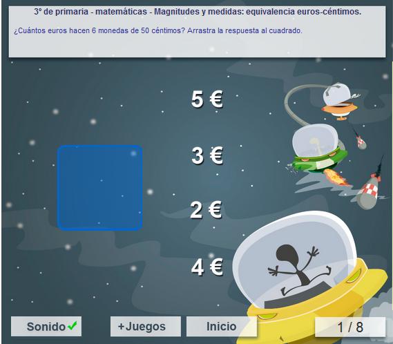 http://www.mundoprimaria.com/juegos/matematicas/magnitudes-medidas/3-primaria/61-juego-euros-centimos/index.php