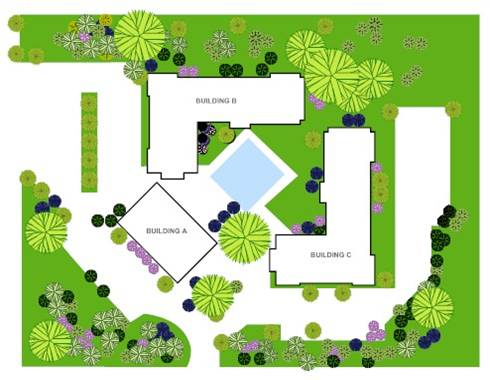 Landscape design plans home garden and landscaping for Landscape pre planned garden designs