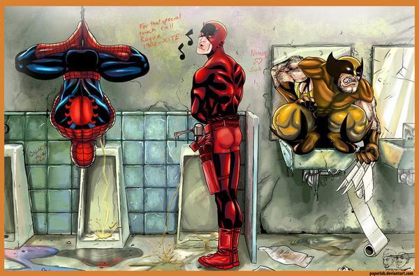 Rofl Zone How Super Heros Pee Lol