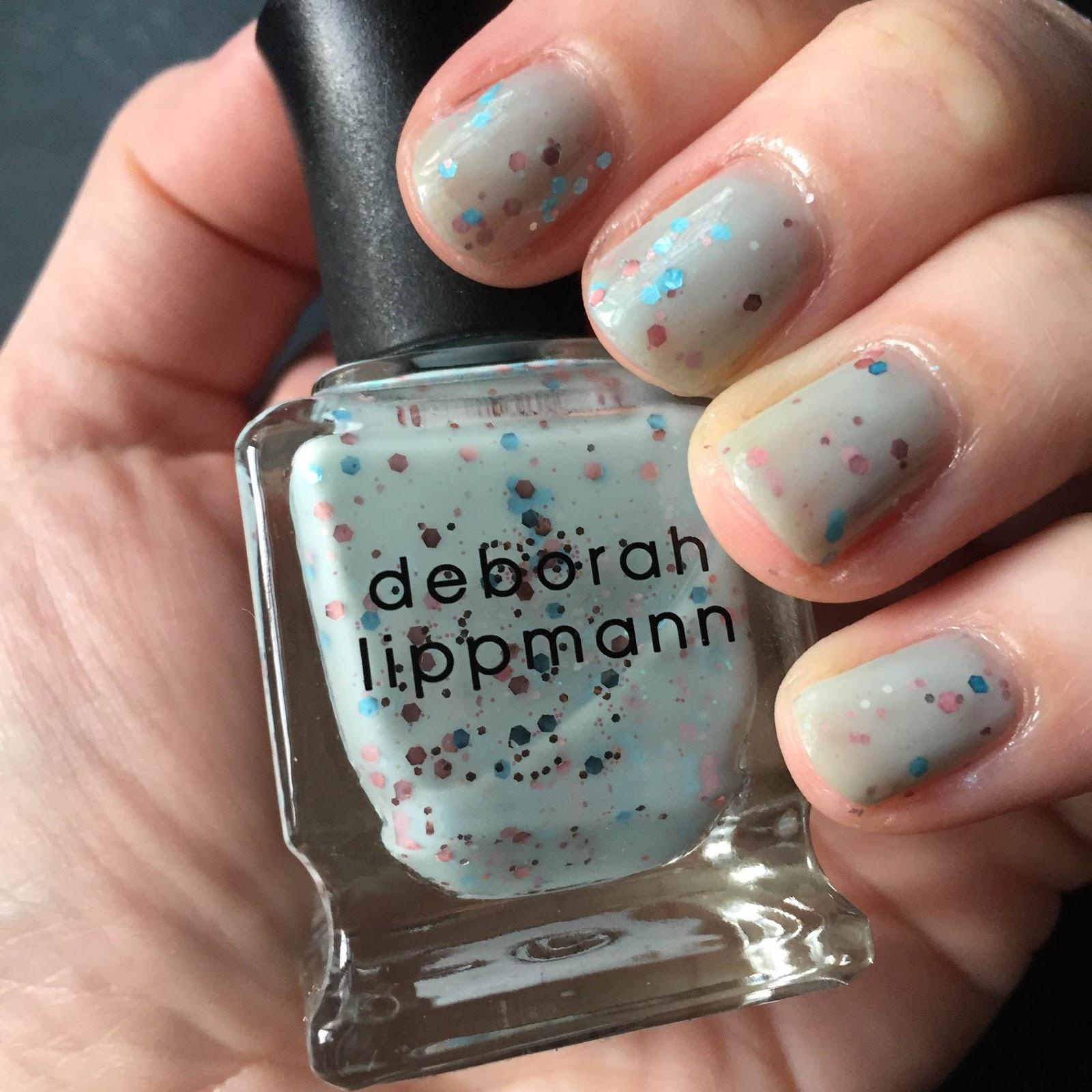 The Beauty of Life: My LA Bound Mani: Deborah Lippmann Glitter In ...