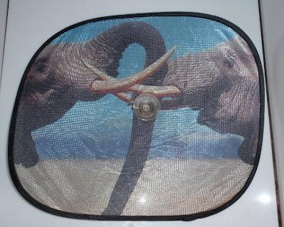 Elefánt az ablakra