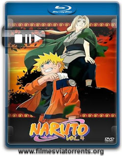 Naruto 4ª Temporada Torrent - BluRay Rip