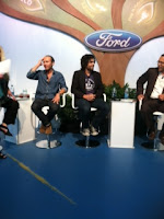 Adrian Grenier on Ford panel on Eco-Psychology