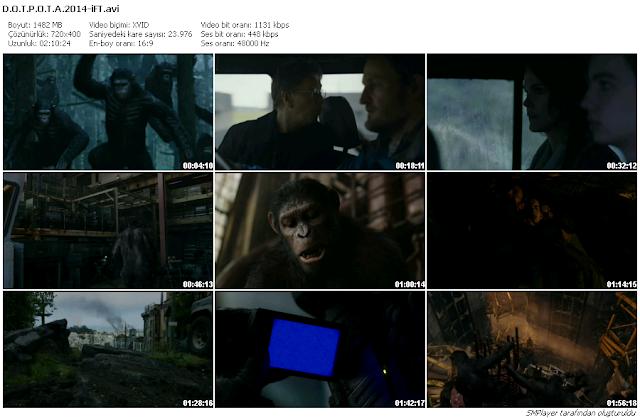 Maymunlar Cehennemi 2 : Şafak Vakti 2014 BDRip XviD Türkçe Dublaj İndir