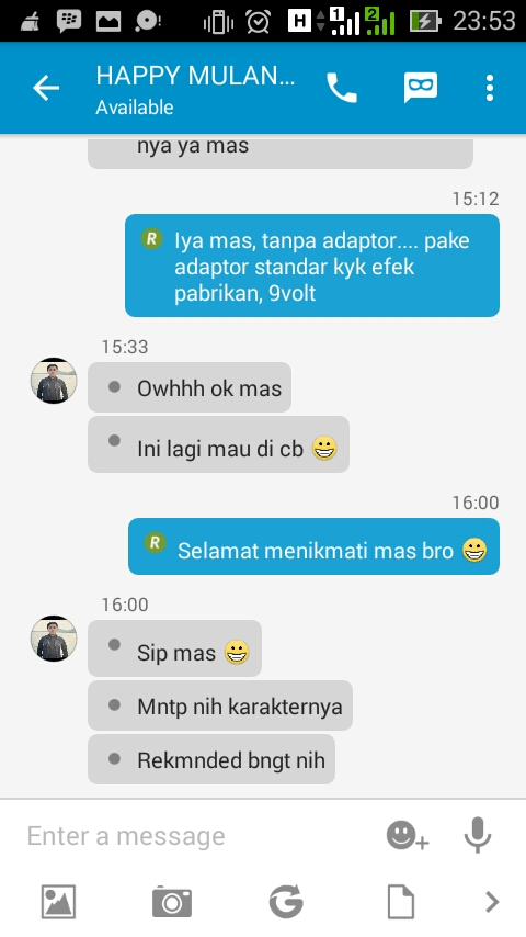 HAppy Mulando Lampung