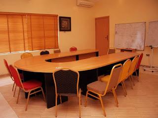 Solitude Hotel meeting hall