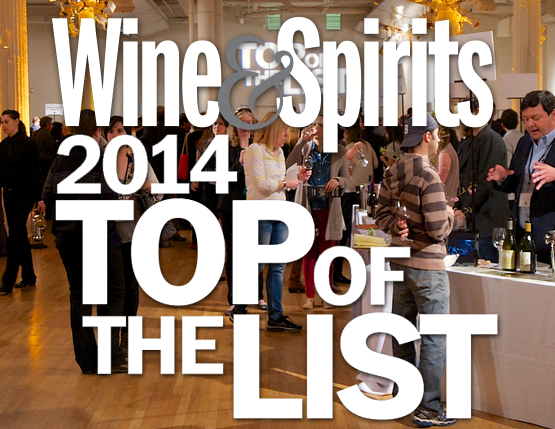 WINE & SPIRITS TOP 2014