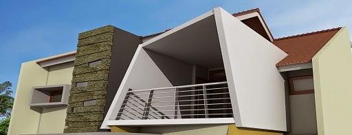 desain rumah sedang berlangsung