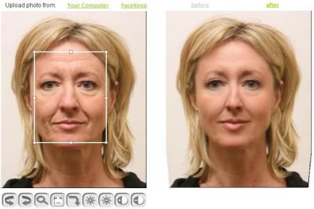 I pacchi di faccia che danno lottusità