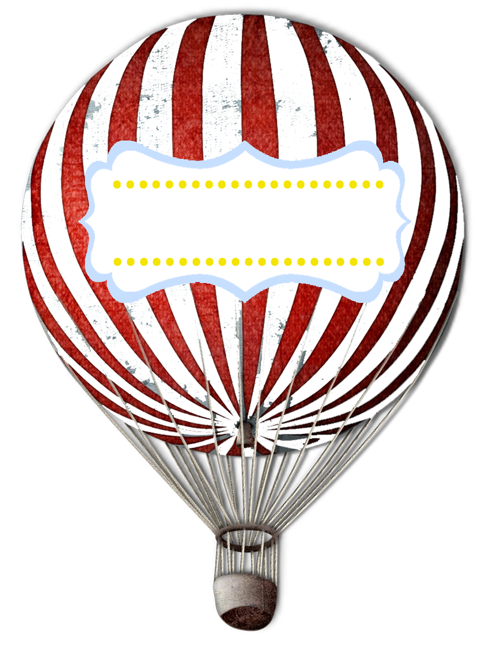 Satisfactory image with hot air balloon printable