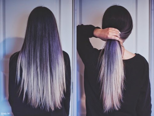 long hair, ombre hair, dip dyed hair, hair inspiration, long hair styles