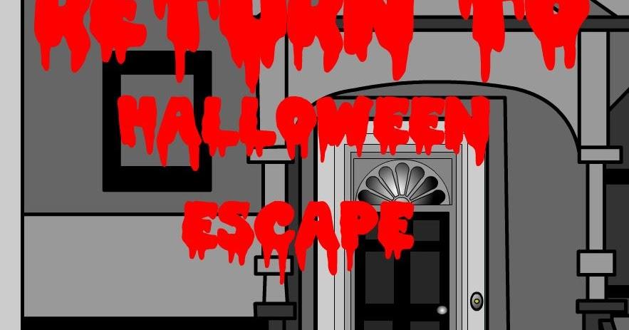 Halloween Room Escape Walkthrough