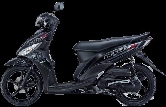 Yamaha Mio J FI 2014 Hitam
