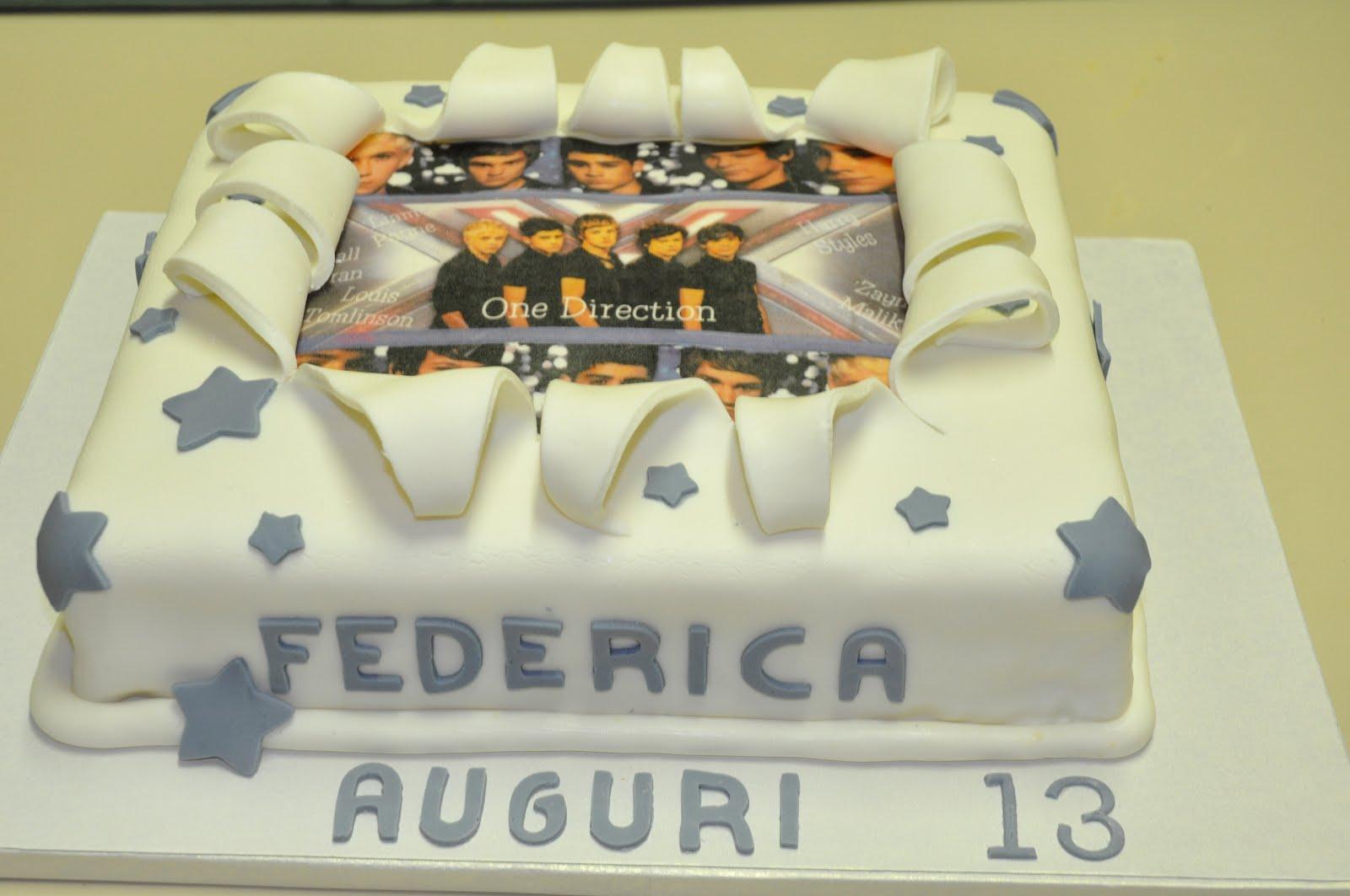 La Torta Dei Desideri One Direction Cakeper Mia Bambina
