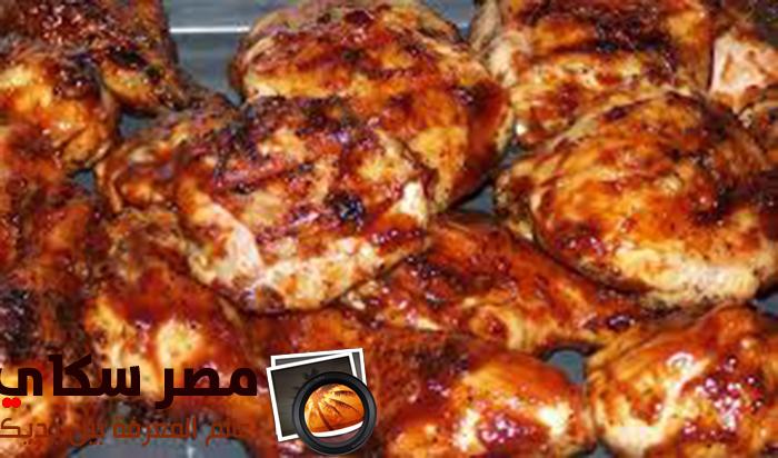 طريقة عمل  أوراك الدجاج المشوية