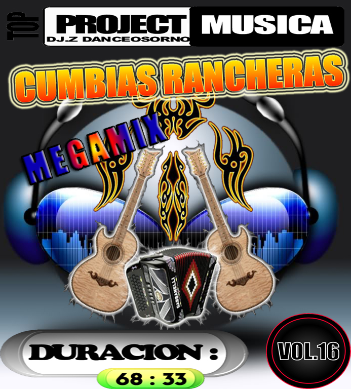 MEGAMIX CUMBIAS RANCHERAS VOL.16