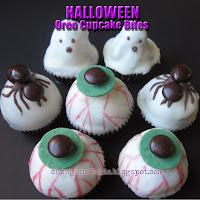 Halloween Oreo Cupcake Bites by chengand3kids.blogspot.com
