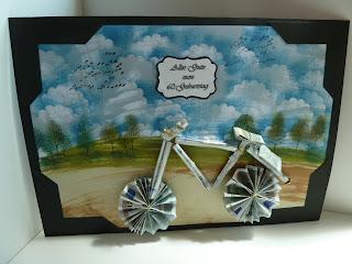 fahrrad basteln aus papier. Black Bedroom Furniture Sets. Home Design Ideas