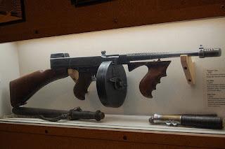 thompson submachine gun receiver