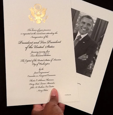 57th Inauguration Obama