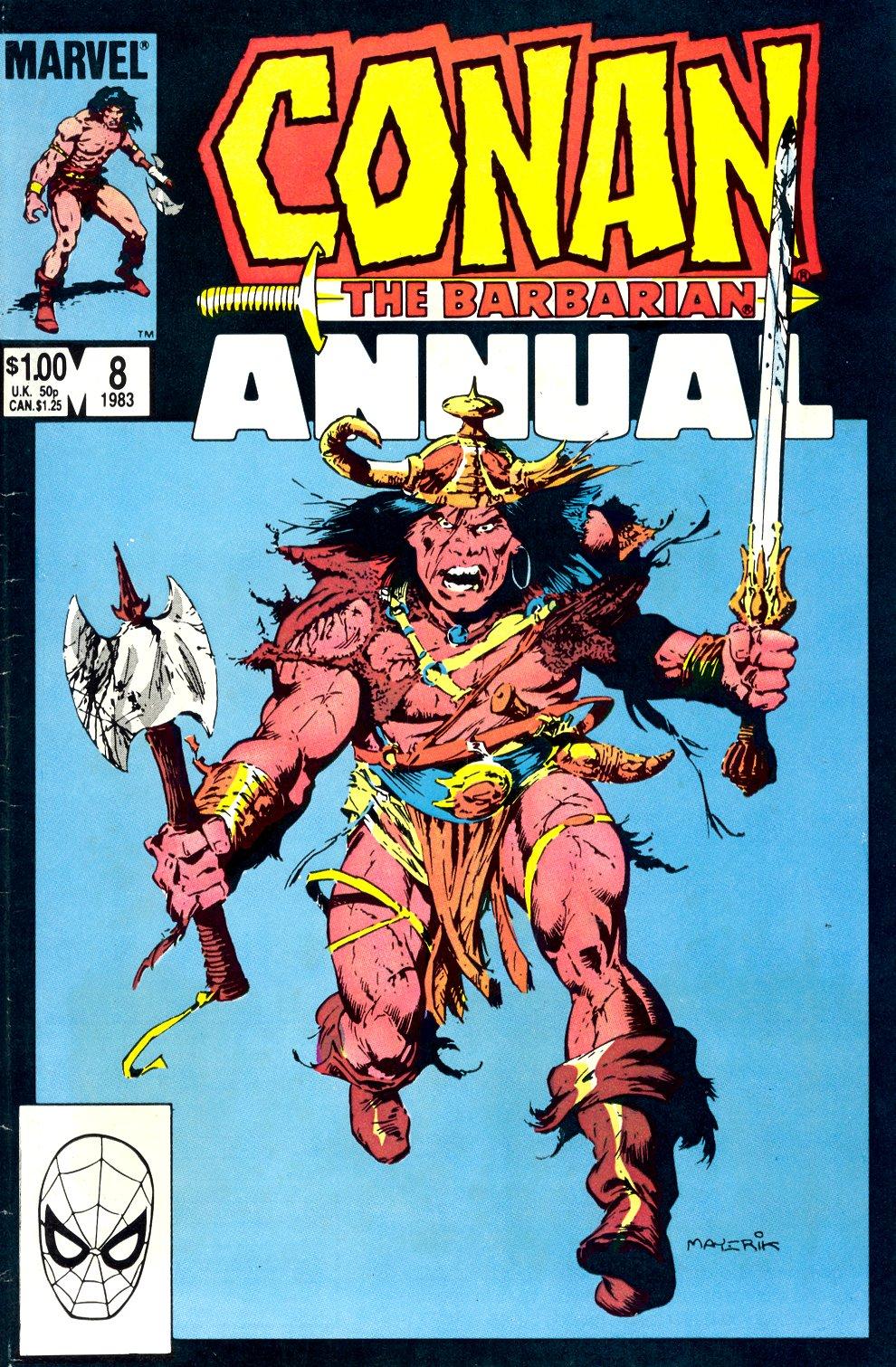 Conan the Barbarian (1970) Annual_8 Page 1