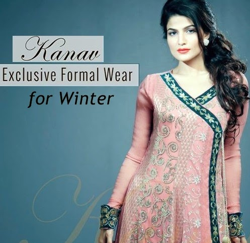 Pakistani Fashion Designer Clothes 2015 KANAV is the clothing label