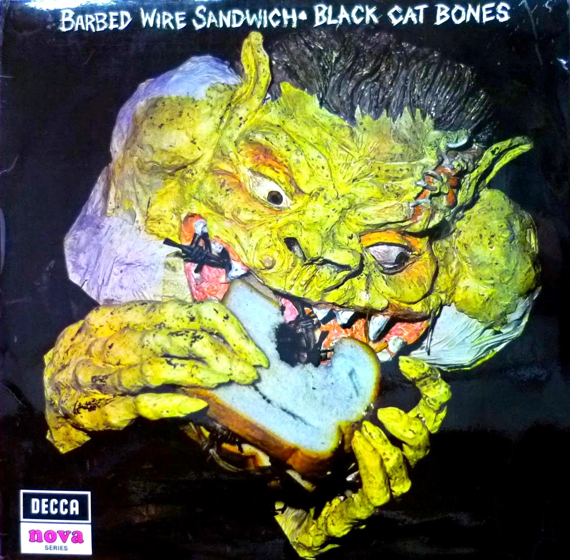 "Black Cat Bones - ""Barbed Wire Sandwich"" LP"