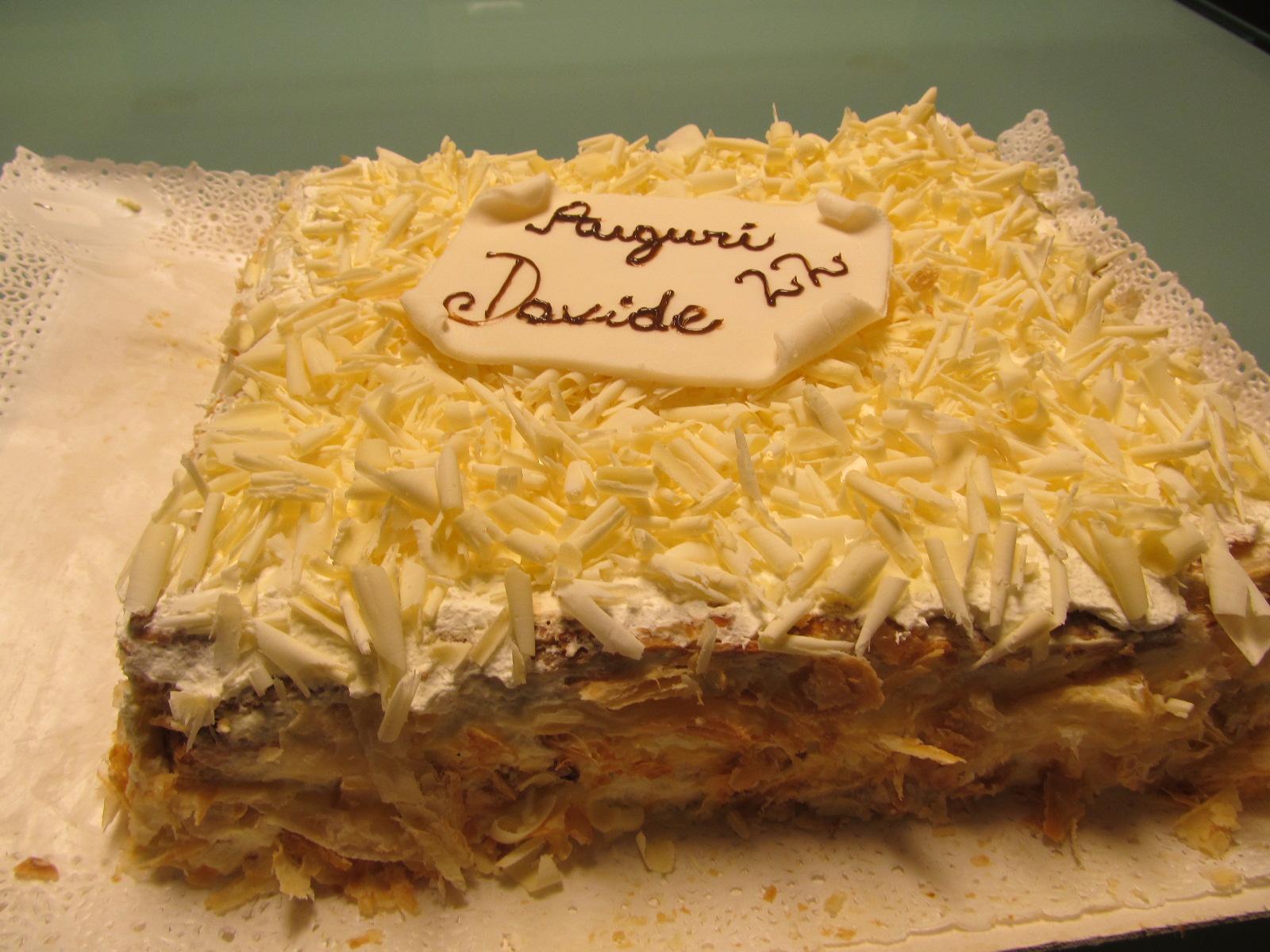 Millefoglie for Decorazione torte millefoglie