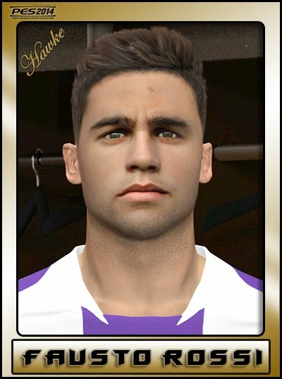 PES 2014 Fausto Rossi Face by Hawke