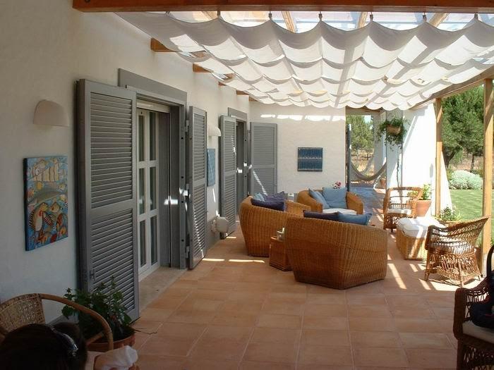 Muebles y decoraci n de interiores p rgolas para exteriores - Muebles de exteriores ...