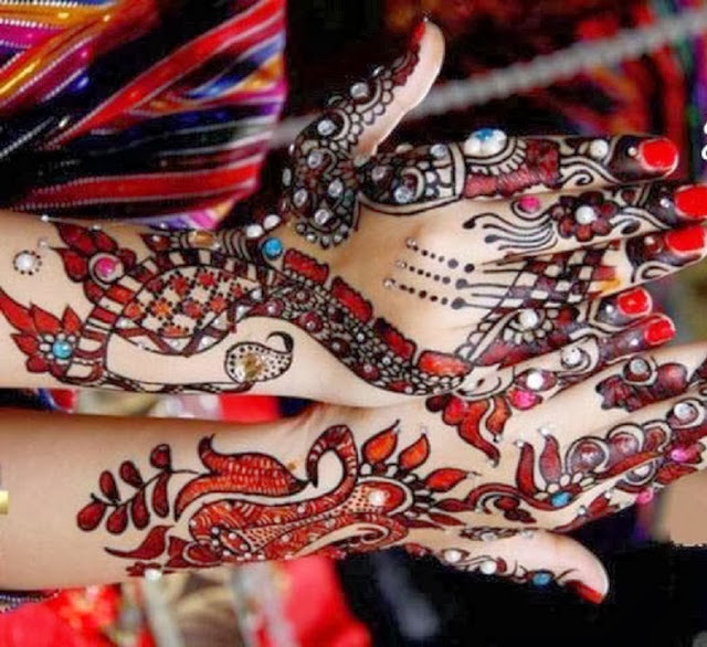 Mehndi Designs For Girls Colorful Bridal Mehndi Designs 2013 2014 For Girls