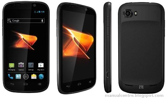 ZTE WARP SEQUENT MANUAL - Download ZTE N861 User Guide