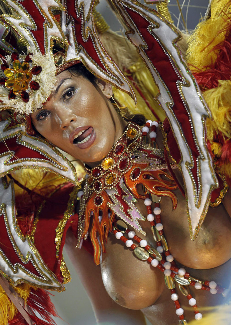 Became The Main Attractions Of Carnival In Rio De Janeiro