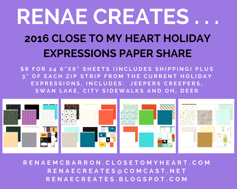 CTMH 2016 Holiday Expressions Paper Share